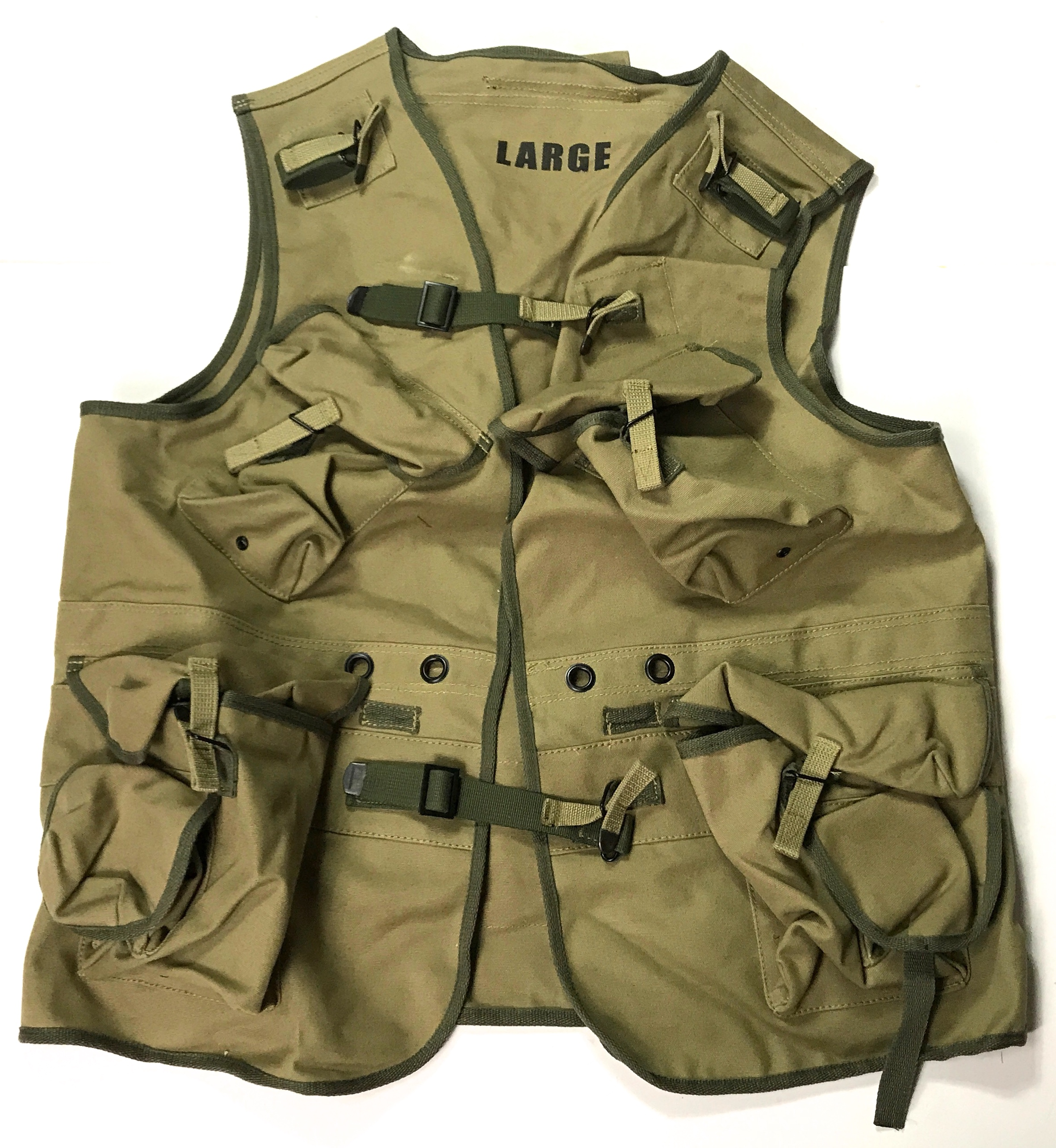 Ranger Combat Assault Vest Od 3 Man The Line