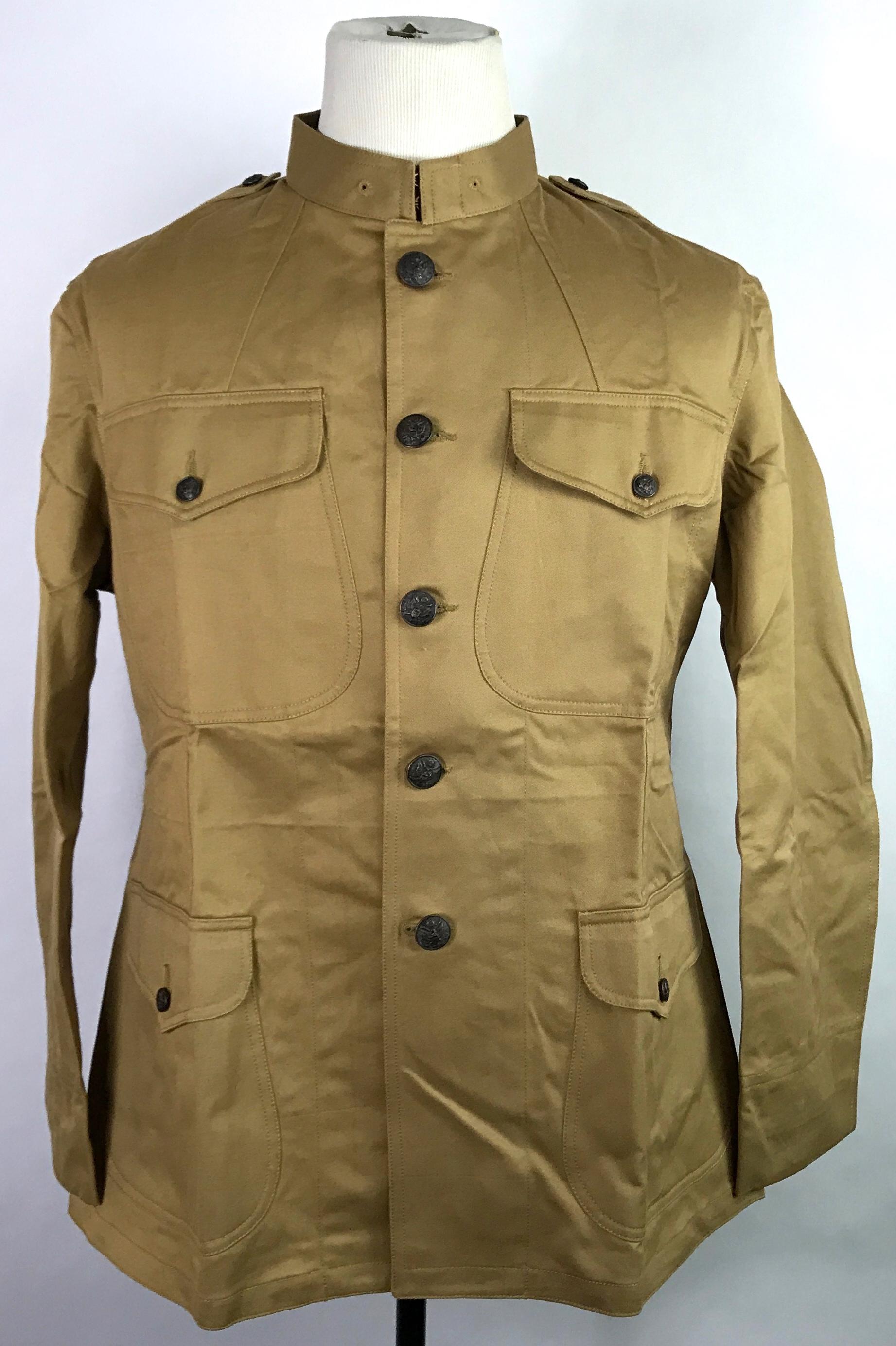M1912 Summer Combat Field Tunic Man The Line