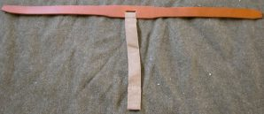 M1910 HAVERSACK PACK TAIL LEATHER INSERT