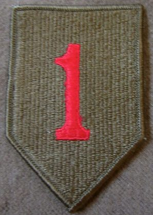 """1ST """"BIG RED ONE"""" DIVISION"""