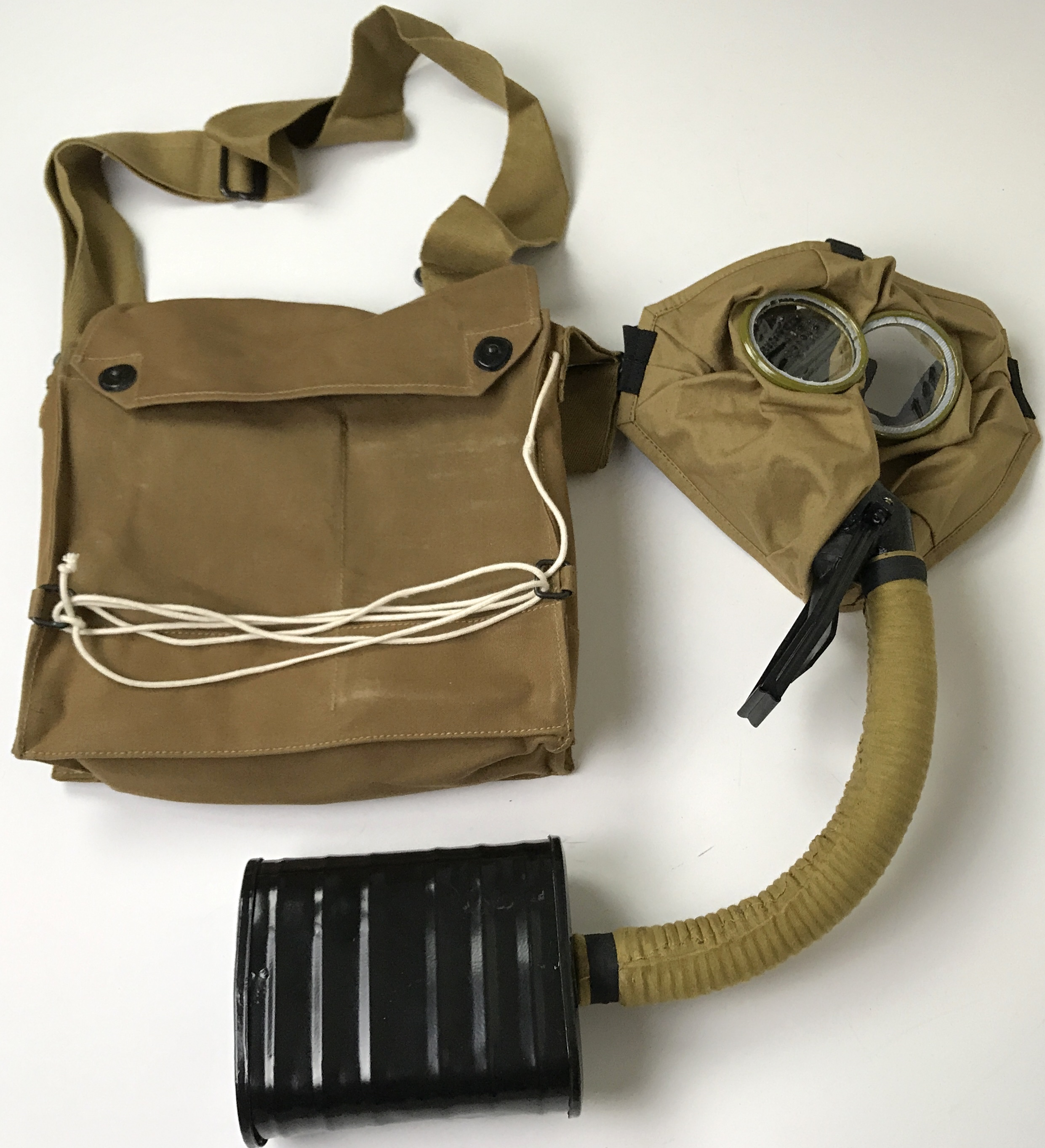 U S M1917 Sbr Gas Mask Amp Carry Bag Man The Line