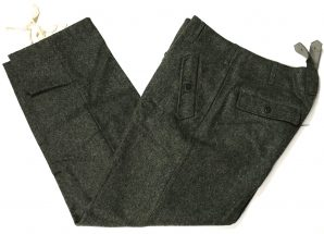 M44 FIELD GRAY WOOL TROUSERS