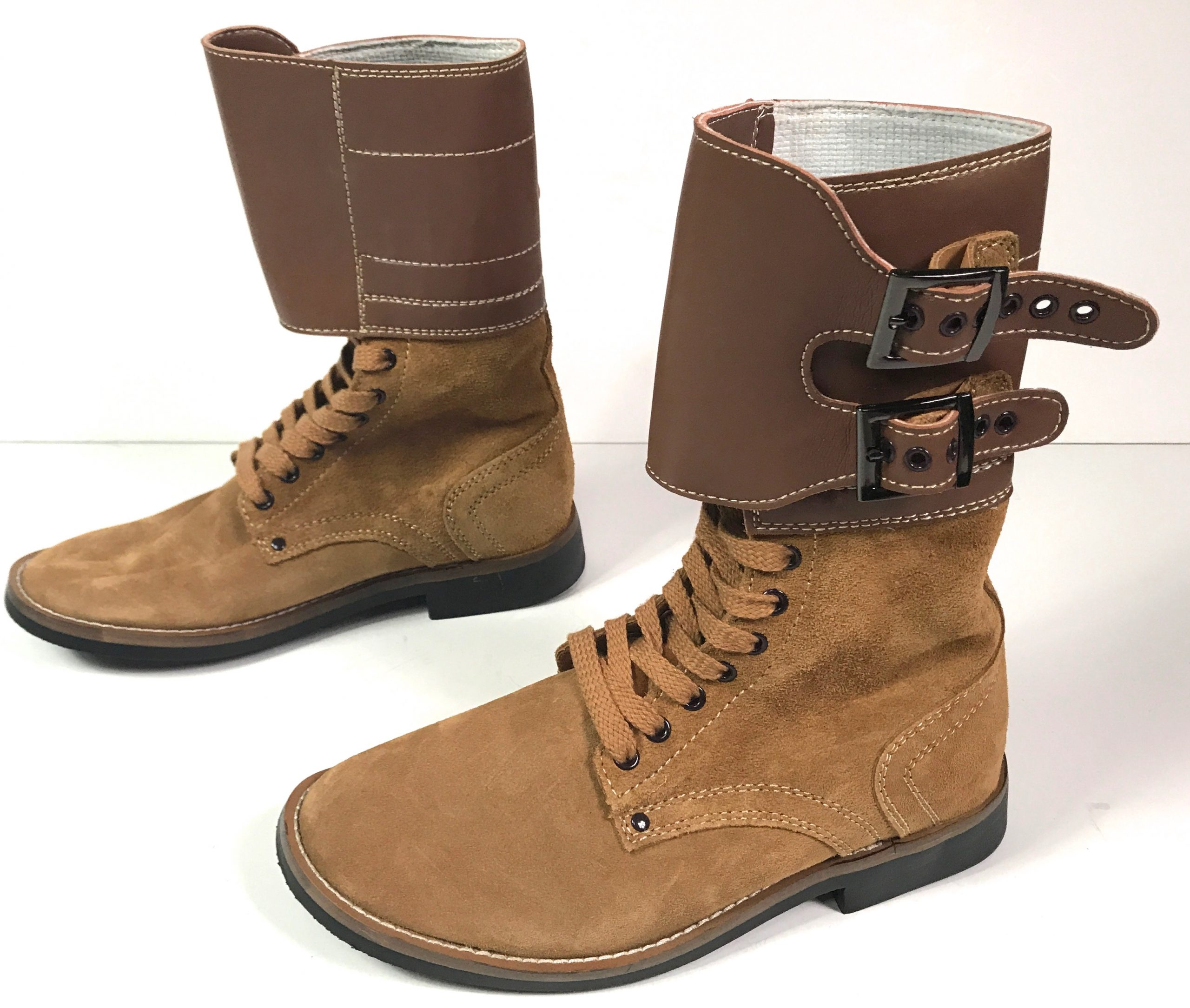 Combat Service Double Buckles Boots Man The Line