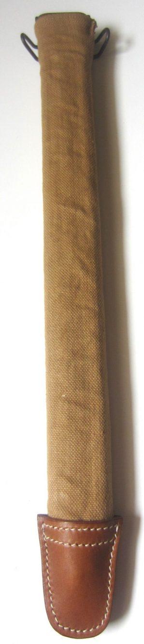 """16"""" BAYONET SCABBARD & CANVAS COVER"""