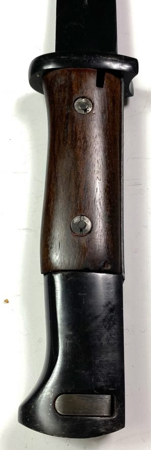 K98 RIFLE BAYONET AND CARRY SCABBARD