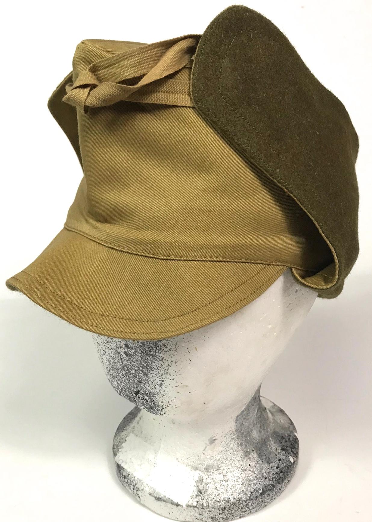 2af1b78f496451 M1917 WINTER FIELD CAP   Man The Line
