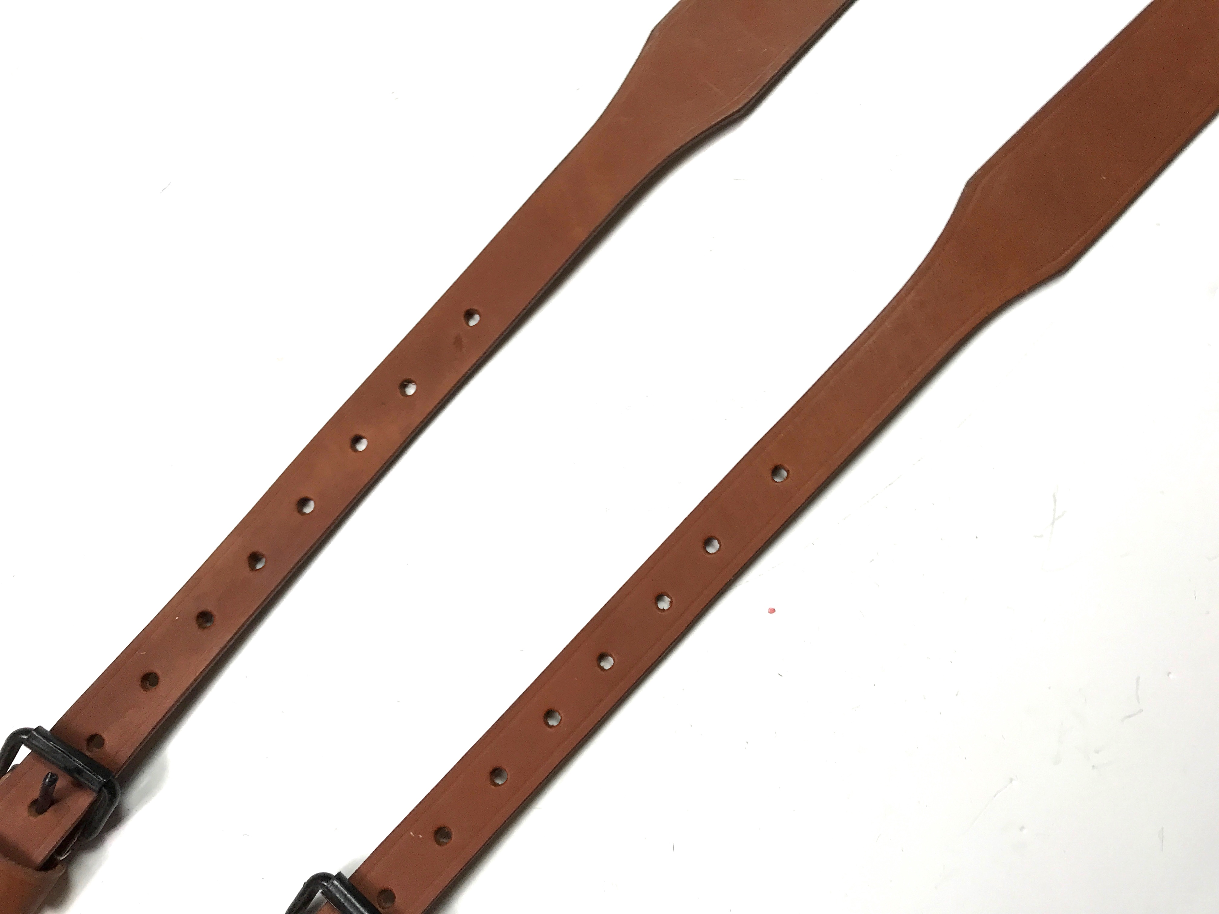 MG34 MG42 LAFETTE TRIPOD LEATHER CARRY STRAPS