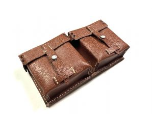 G43 RIFLE AMMO POUCH-LEATHER