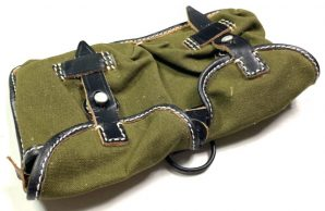 G43 RIFLE AMMO POUCH-OLIVE CANVAS