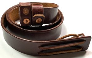WWI WWII ENFIELD SMLE RIFLE CARRY SLING-LEATHER