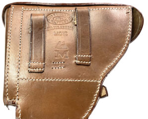 P04 NAVAL LUGER PISTOL HOLSTER-BROWN LEATHER